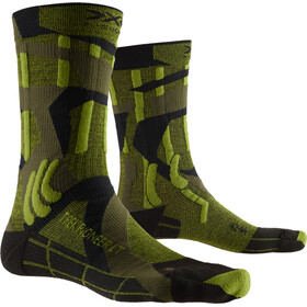 X-Socks Trek Pioneer LT Calcetines Hombre, forest green/modern camo